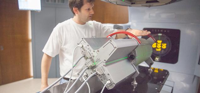 Bestrahlungstechnik der neusten Generation